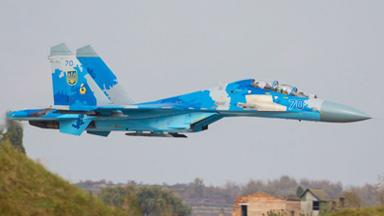 殃及盟友!乌苏-27坠毁美军飞行员丧生
