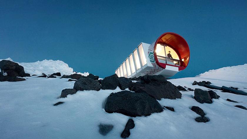 """在海拔4000米高空入住:欢迎来到冰雪中的""""空间站"""""""