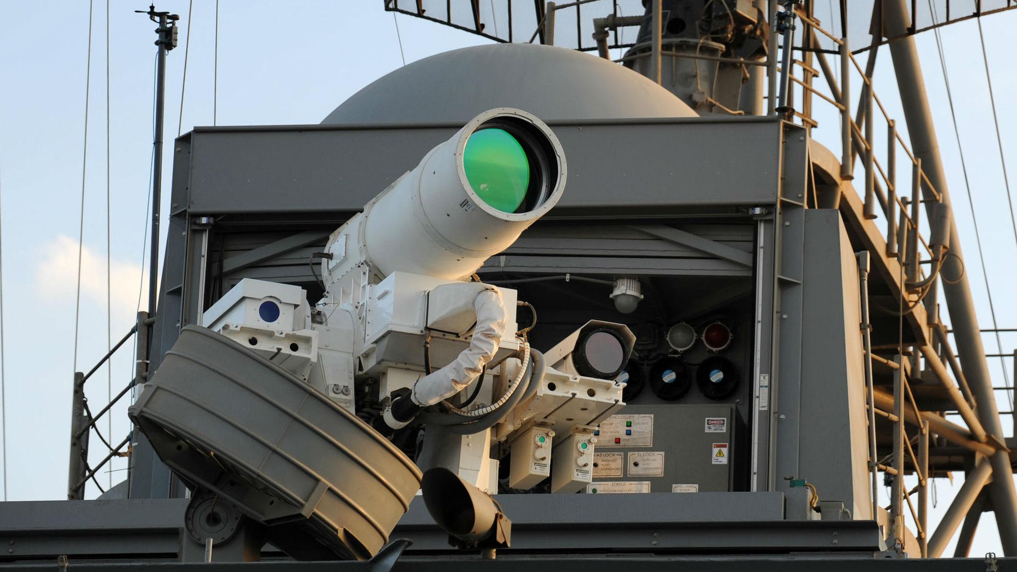 火力无穷!美军研发新型舰载集成高能激光武器