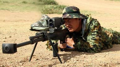 """军情锐评:中国狙击手继承传统续写辉煌 美军""""一胖毁所有"""""""