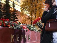克里米亚刻赤工学院遇袭 民众悼念遇难者