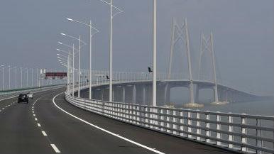 港媒:港珠澳大桥23日举行通车仪式 三小时生活圈前景可期