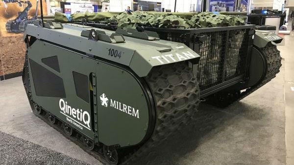 """美刊关注""""反坦克机器人"""":有""""造反""""隐忧 或令坦克被淘汰"""