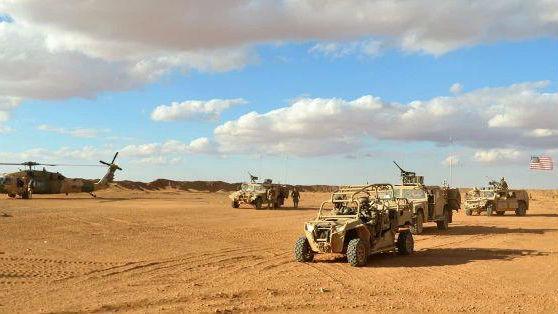 """美國駐中東最高指揮官視察駐敘部隊:反恐與""""抗衡伊朗"""""""
