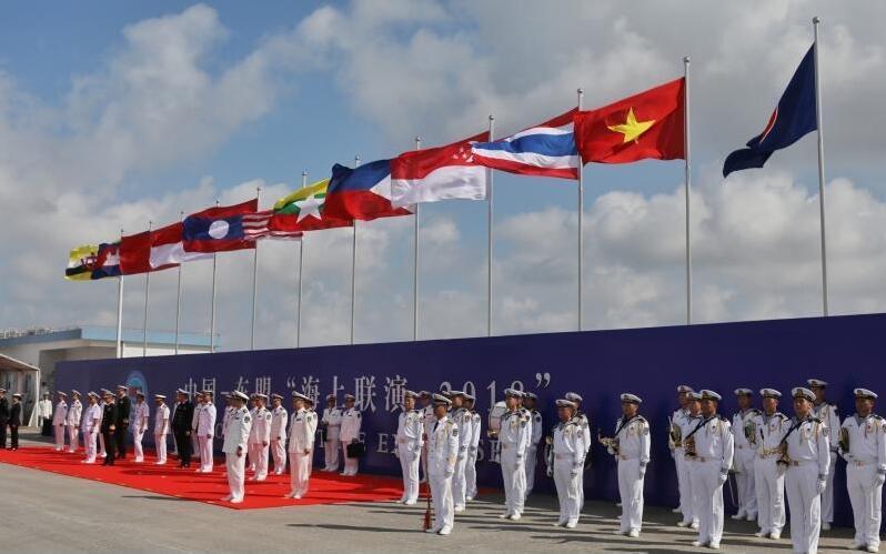 看到中國和東盟一起做這件事,美國插手南海似已急不可耐——