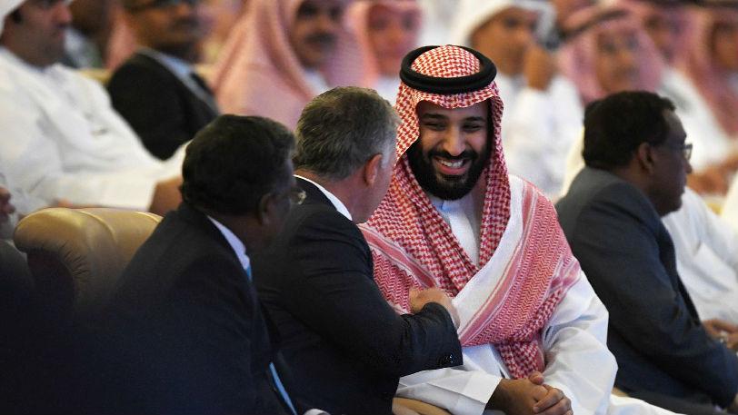 """沙特王儲稱殺記者罪行""""令人發指"""":正義將得到伸張"""