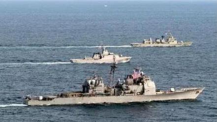 境外媒体:美军下月赴台湾海峡军演传闻不可信