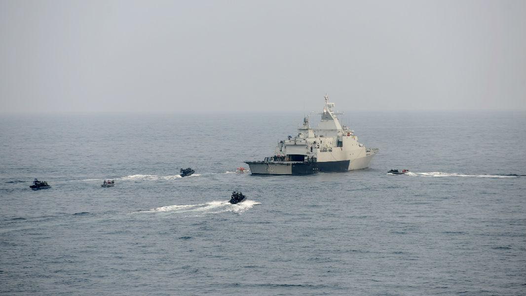 外媒:中馬泰舉行首次三方軍演 彰顯維護南海和平決心