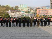 中朝祭扫友谊塔 纪念中国人民志愿军赴朝参战68周年