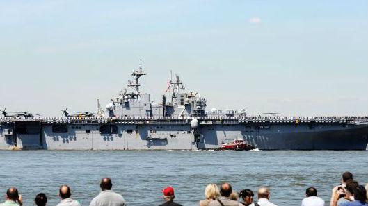 北约军演出师不利:美军舰装备受损 荷兰没带御寒衣