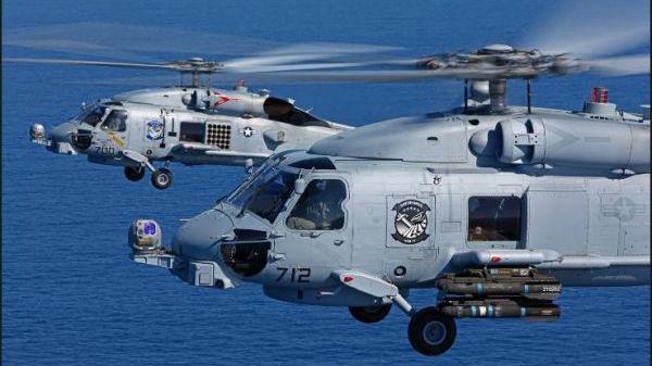 """副油箱致命坠落!美海军一直升机中队3个月内连发2起""""A级""""事故"""