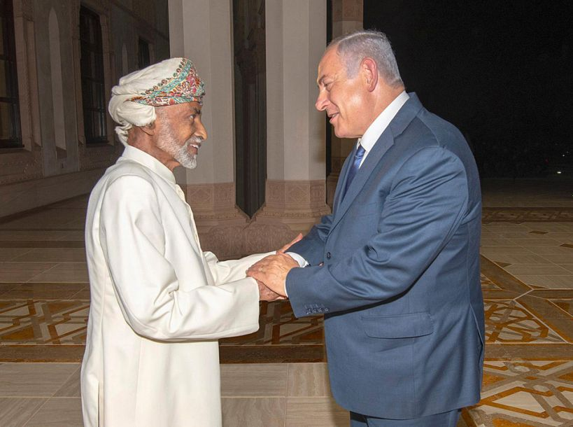 以色列总理对阿曼进行20多年来首次正式访问