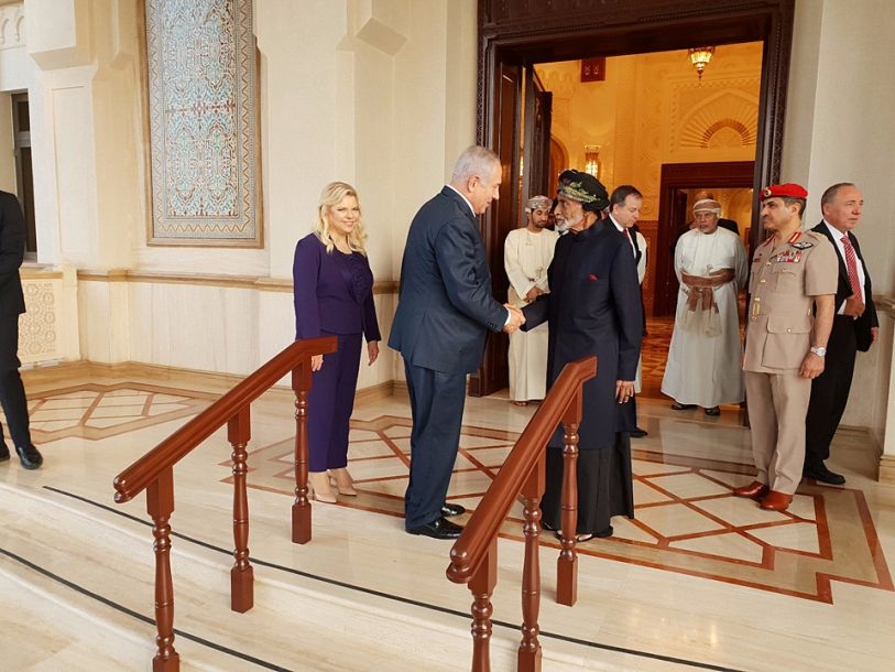 以色列總理對阿曼進行20多年來首次正式訪問