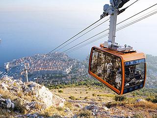 西媒盘点:世界上最美和最恐怖的10条缆车线