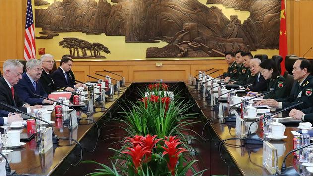 马蒂斯邀魏凤和本周访美 海外媒体:中美亟须防止战略误判