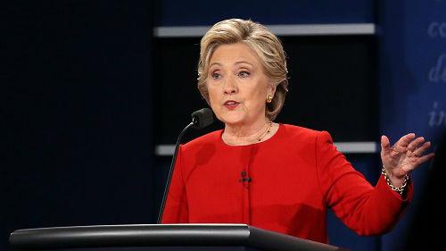 """希拉里2020年""""想参选总统""""?美媒:只是含混信号"""