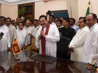 斯里兰卡前总统拉贾帕克萨宣布正式出任总理