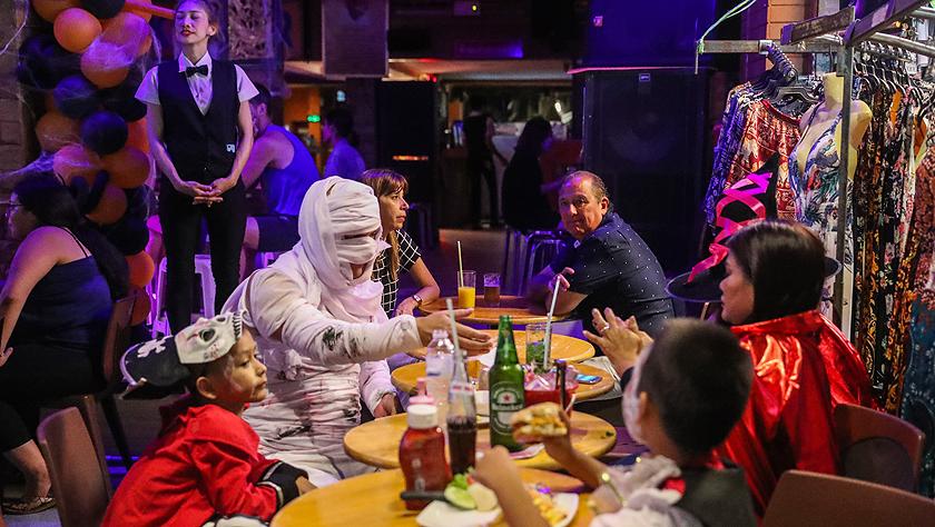 曼谷舉行萬圣節慶祝活動