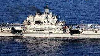 航母甲板砸出20平方米窟窿也不要紧?俄官员称修补很简单