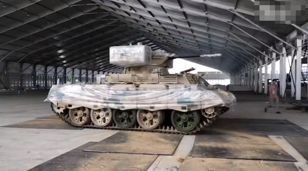 首见59坦克支援车!珠海地面武器抢鲜看