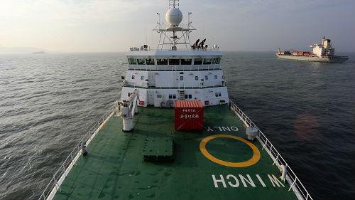 """菲媒:中國""""科學號""""科考船再赴菲律賓海域"""