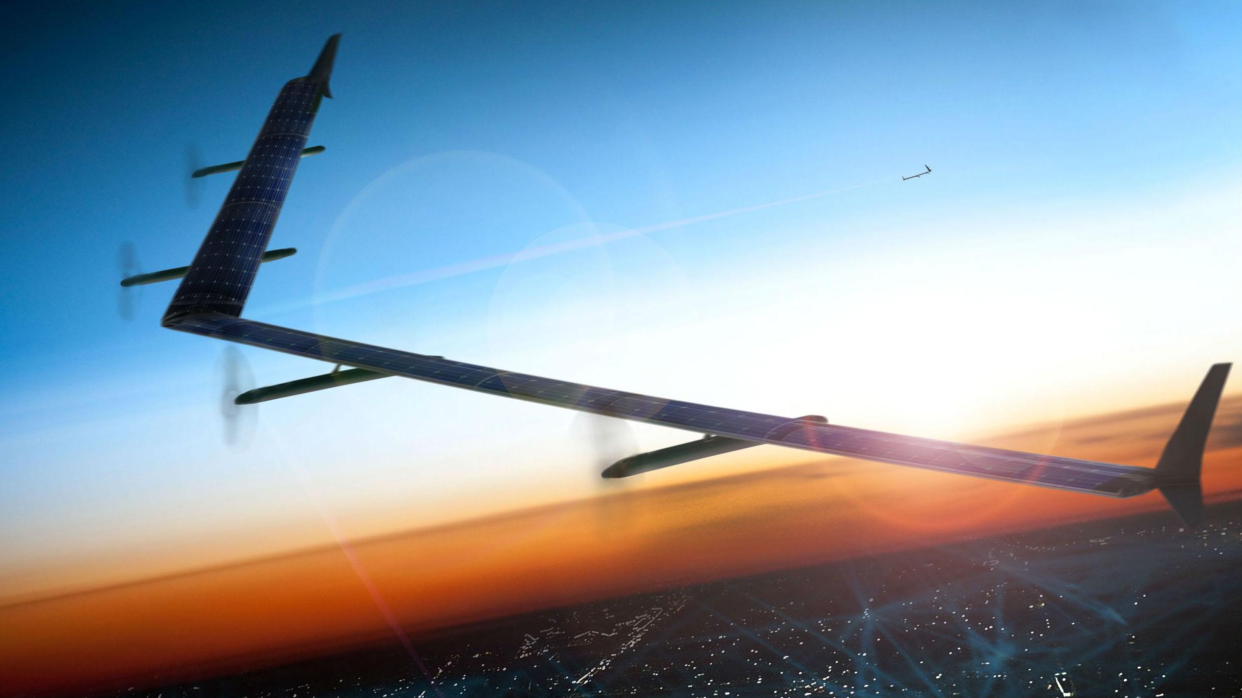 军情锐评:U赢电竞太阳能无人机可留空数月 可探测隐身战机及航母
