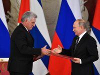 俄罗斯与古巴表示反对强权政治和单边制裁