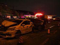兰海高速发生交通事故 多人死伤