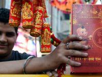 中国电子鞭炮走俏印度排灯节