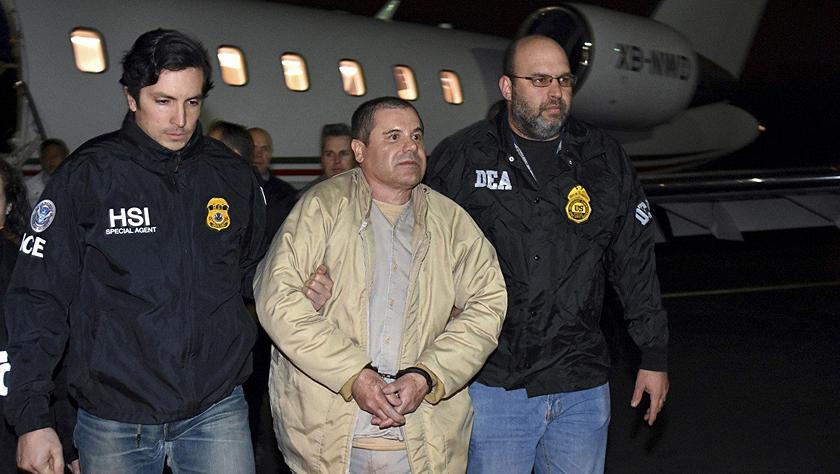 """大毒枭古斯曼纽约受审 或成为美国""""史上最贵""""审判"""
