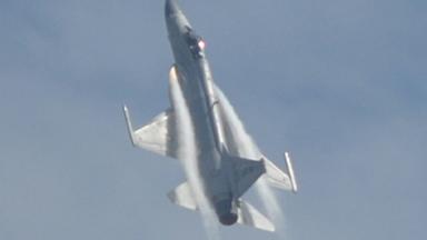 枭龙在天!直击巴基斯坦战机飞行表演