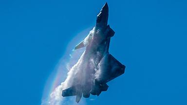 三龙共舞!多架歼-20隐身战机精彩献艺