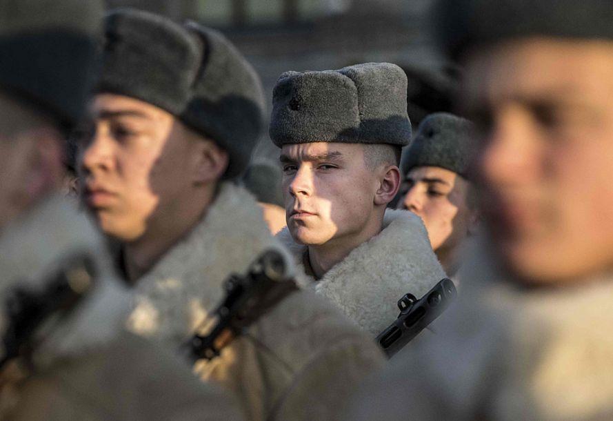 俄罗斯首都莫斯科举行红场阅兵