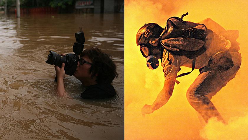 盘点摄影记者的辛酸血泪