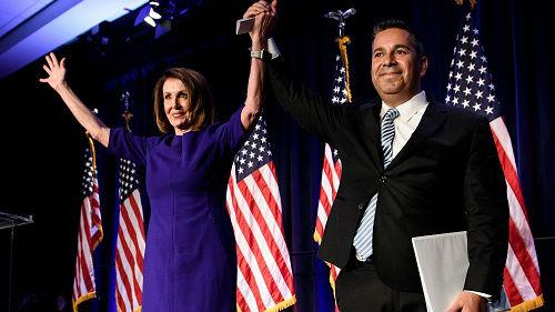 """外媒评述:美中期选举共和党民主党""""各赢一局"""""""