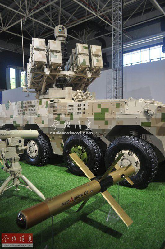 破甲厚度超1米!沙特武官看红箭10导弹