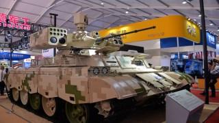 最爱5对负重轮!这款网红战车2天吸引13国军事代表团围观
