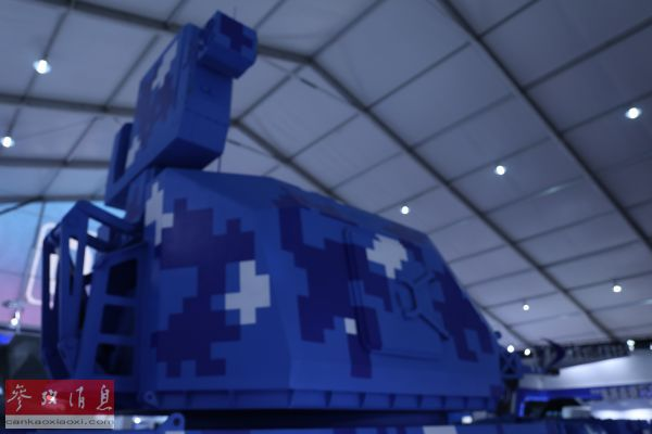 图为JRVG-1型自行火炮炮塔