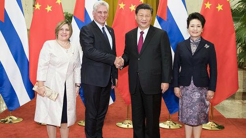 外媒关注:古巴领导人访华续写友谊新篇章