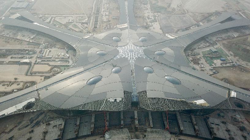 西媒:北京新机场即将完工 最大旅客吞吐量将达每年1亿人次