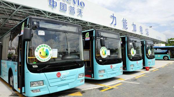 外媒惊叹深圳成世界首个公交全电动化城市:西方才刚刚起步