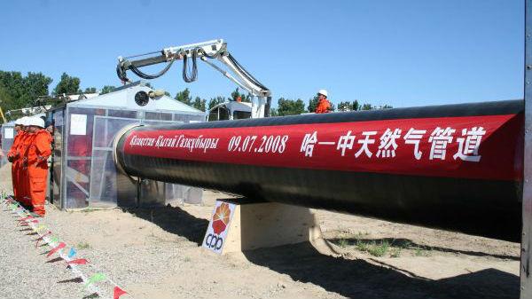 美媒:中国将成最大天然气进口国 中亚国家看到商机