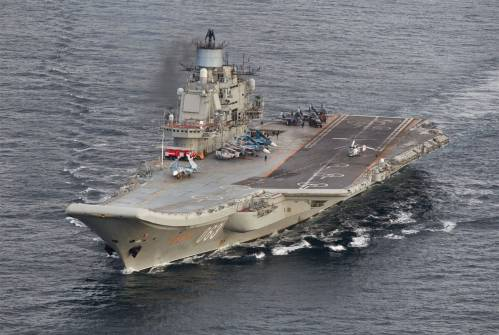美媒报道:俄罗斯坦承无力修复唯一航母