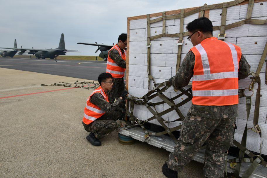 韩国回礼朝鲜200吨柑橘