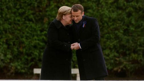 外媒:世界隆重纪念一战结束百年 多国领导人齐聚巴黎