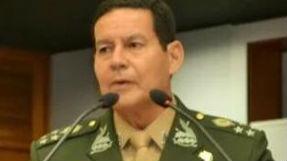 印第安血统将军出任巴西副总统 曾宣称军队应干预政局