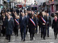 法国举行巴黎连环恐袭事件三周年纪念活动