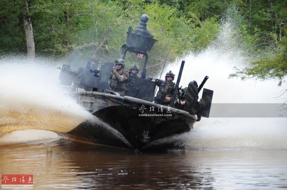 小艇猛烈!美特战艇每分打1.5万发灭敌
