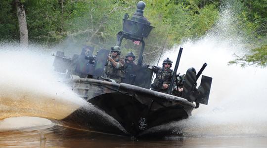 小艇凶猛!美特战艇每分打1.5万发灭敌