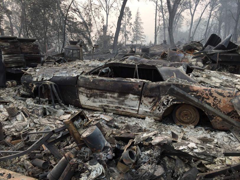 加州山火遇难人数升至63人 失踪人数超过600人